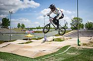 2021 UCI BMXSX World Cup 1&2<br /> Verona (Italy)<br /> Friday Practice<br /> WE + WU<br /> ^me#593 CAMPO, Alfredo (ECU, ME) E6 Wheels, Avian