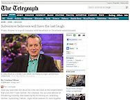 Frank Skinner / The Telegraph / 19th September 2011.