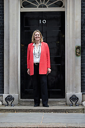 © Licensed to London News Pictures . 11/05/2015 . London , UK . AMBER RUDD arrives at 10 Downing Street this morning (11th May 2015) . Photo credit : Joel Goodman/LNP
