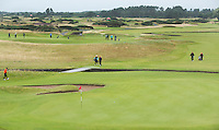 CARNOUSTIE Schotland - Hole 18  Carnoustie Golf Links. COPYRIGHT KOEN SUYK