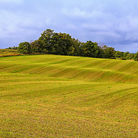 """""""Rolling Lines""""<br /> <br /> Scenic rural farm land in Charlevoix Michigan!!<br /> <br /> Landscapes by Rachel Cohen"""