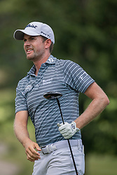 August 5, 2018 - Akron, OH, U.S. - AKRON, OH - AUGUST 05:   Webb Simpson (USA) watches his shot from the sixth tee during the final round of the World Golf Championships - Bridgestone Invitational on August 5, 2018 at the Firestone Country Club South Course in Akron, Ohio. (Photo by Shelley Lipton/Icon Sportswire) (Credit Image: © Shelley Lipton/Icon SMI via ZUMA Press)