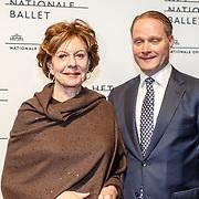 NLD/Amsterdam/20160206 - Premiere balletvorstelling Mata Hari, Neelie Kroes en ......