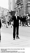 Michael Cramner-Brown. May morning Oxford.1 May 1982. Film 82304f26<br />© Copyright Photograph by Dafydd Jones<br />66 Stockwell Park Rd. London SW9 0DA<br />Tel 0171 733 0108