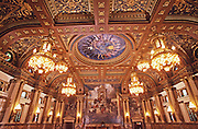 PA Capitol House of Representatives, Edwin Abbey Artist, Architect Huston, Harrisburg, Pennsylvania