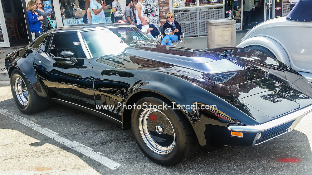 Chevrolet Corvette Stingray at the Huntington beach car show March 2016