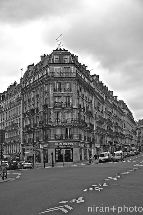 Parisian Flat Iron Building, Paris, France