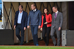 © Licensed to London News Pictures. 22/11/2017. London, UK. PRINCE WILLIAM, DUKE OF CAMBRIDGE and CATHERINE, DUCHESS OF CAMBRIDGE visit Aston Villa Football Club to see the work of the Coach Core programme taking place in Birmingham. Photo credit: Ray Tang/LNP