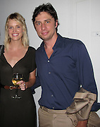 **EXCLUSIVE**.Taylor Bagley and Zach Braff..Indira Cesarine, Founder of XXXX Magazine, Taylor Bagley a British Model on XXXX Magazine Video where she strips down and becomes topless and painted on, and Zach Braff, an American Actor on TV Show Scrubs..XXXX Magazine Celebrate the Launch of Issue No.2..Studio Cesarine..New York, NY, USA..Wednesday, June 23, 2010..Photo ByiSnaper App/ CelebrityVibe.com.To license this image please call (212) 410 5354; or Email:CelebrityVibe@gmail.com ;.website: www.CelebrityVibe.com.