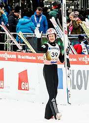 Robert Johansson of Norway celebrate his birthday after the 2nd Round of the Ski Flying Hill Individual Competition at Day 2 of FIS Ski Jumping World Cup Final 2018, on March 23, 2018 in Planica, Slovenia. Photo by Vid Ponikvar / Sportida