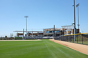 The Championship Baseball Stadium Seen From the Outfield