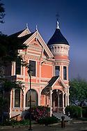 """Gingerbread"" victorian house, Eureka, Humboldt County, CALIFORNIA"