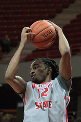05 January 2014:  Tony Wills during an NCAA  mens basketball game between the Salukis of Southern Illinois and the Illinois State Redbirds  in Redbird Arena, Normal IL.  Final score ISU 66, SIU 48