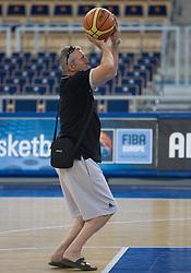 Iztok Rems during the practice session, on September 11, 2009 in Arena Lodz, Hala Sportowa, Lodz, Poland.  (Photo by Vid Ponikvar / Sportida)