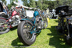 Guest bike corral at the Born Free Motorcycle Show (BF11) at Oak Canyon Ranch, Silverado  CA, USA. Saturday, June 22, 2019. Photography ©2019 Michael Lichter.