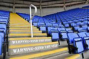 Empty seats still at the Madsjski Stadium during the EFL Sky Bet Championship match between Reading and Barnsley at the Madejski Stadium, Reading, England on 19 September 2020.