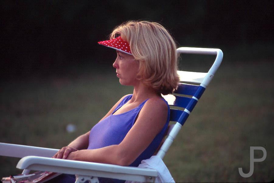 Kay Pratt at Arcadia Lake in Edmond