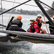 Auckland Stopover. M32 Guest Sailing. Groups 7, 8, 9 and 10, 11, 12.15 March, 2018.