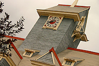 Tower of old Regina Firehall, Regina Saskatchewan