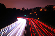 500px Photo ID: 4411068 - 101 james lick freeway into san francisco, long exposure