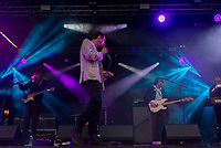 Fat White Family  live at the Bigfoot Festival Ragley Hall Warwickshire one of the first festivals to open successfully in 2021 photo by Mark anton Smith