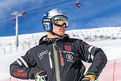 13.02.2020, Zwölferkogel, Saalbach Hinterglemm, AUT, FIS Weltcup Ski Alpin, Abfahrt, Herren, im Bild Thomas Dressen (GER) // Thomas Dressen of Germany during the men's Downhill of FIS Ski Alpine World Cup at the Zwölferkogel in Saalbach Hinterglemm, Austria on 2020/02/13. EXPA Pictures © 2020, PhotoCredit: EXPA/ Johann Groder