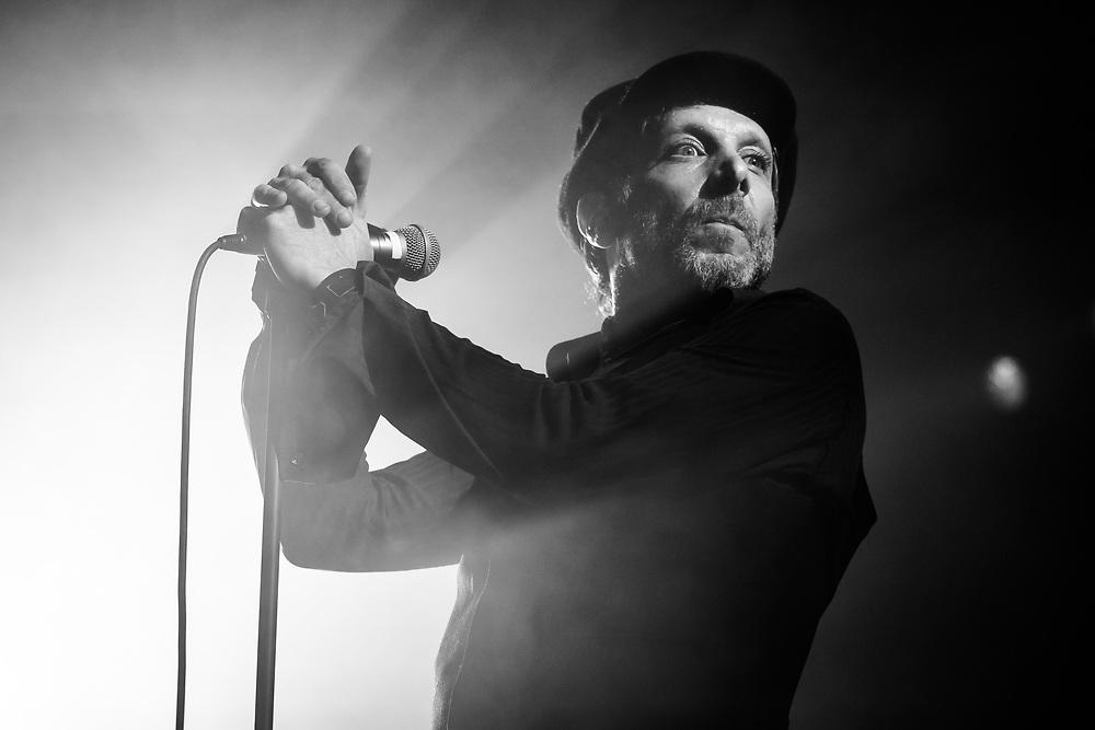 Jonathan Donahue of American indie-rock band Mercury Rev at Iceland Airwaves