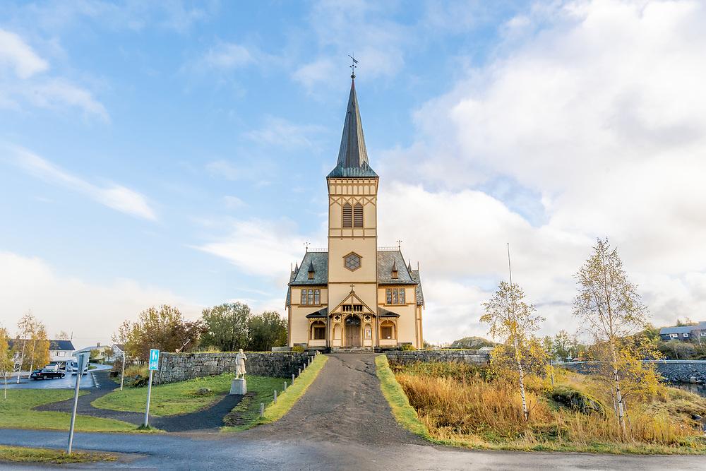 Vågan kirke, også kjent som Lofotkatedralen, er en korskirke i Kabelvåg i Nordland.