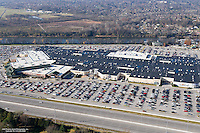 Aerial photo of Opry Mills Mall on Black Friday.