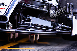 February 26, 2019 - Barcelona, Barcelona, Spain - Alfa Romeo front wing during the Formula 1 2019 Pre-Season Tests at Circuit de Barcelona - Catalunya in Montmelo, Spain on February 26. (Credit Image: © AFP7 via ZUMA Wire)