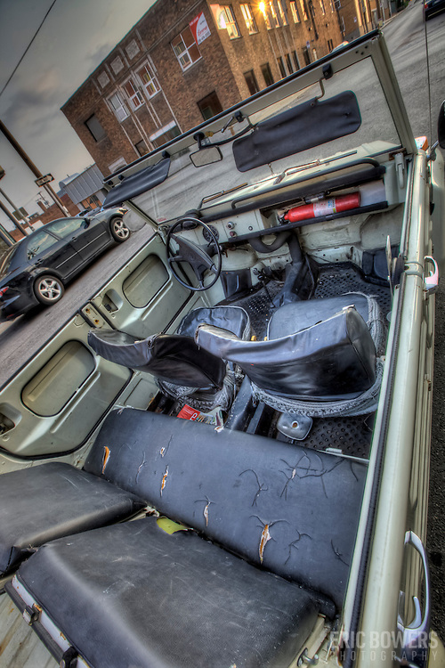 Volkswagen Thing parked at 18th and Wyandotte, Kansas City, MO.