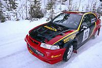 Ål 180103 - Rally NM åpning i Hallingdal - Bernhard Kongsrud og Rune Bekkevold fra Asker og Bærum vant klasse N. <br /> <br /> Foto: Andreas Fadum, Digitalsport