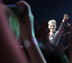 AU_1279955 - Perth, AUSTRALIA  -  Pink performs at the Perth Arena in Perth, Western Australia<br />
