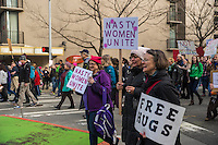 Women's March, Seattle. January 21, 2017.