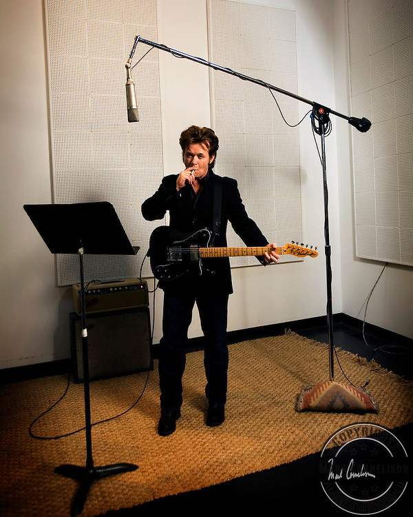 John Mellencamp photographed in his studio in Bloomington Indiana on Friday January 19,2007. Mark Cornelison for the New York Times