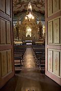 Santa Barbara_MG, Brasil.<br /> <br /> Altar da igreja matriz de Santo Antonio em Santa Barbara, Minas Gerais.<br /> <br /> Altar in Santo Antonio mother church in Santa Barbara, Minas Gerais.<br /> <br /> Foto: LEO DRUMOND / NITRO