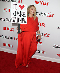 Los Angeles Premiere of Netflix's Santa Clarita Diet Season Two at Arclight in Hollywood, California on 3/22/18. 22 Mar 2018 Pictured: Drew Barrymore. Photo credit: River / MEGA TheMegaAgency.com +1 888 505 6342