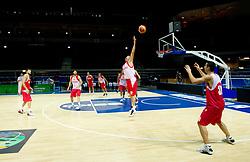 Aleksandar Yanev at practice session of Bularian National basketball team 1 day before Eurobasket Lithuania 2011, on August 29, 2011, in Arena Svyturio, Klaipeda, Lithuania. (Photo by Vid Ponikvar / Sportida)