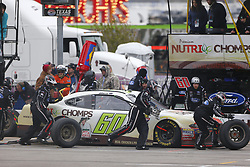 April 7, 2018 - Ft. Worth, Texas, United States of America - April 07, 2018 - Ft. Worth, Texas, USA: Chase Briscoe (60) makes a pit stop for the My Bariatric Solutions 300 at Texas Motor Speedway in Ft. Worth, Texas. (Credit Image: © Stephen A. Arce/ASP via ZUMA Wire)