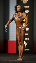 Sept.16, 2016 - Las Vegas, Nevada, U.S. -  CASSANDRA CARPENTER competes in the Figure Olympia contest during Joe Weider's Olympia Fitness and Performance Weekend.(Credit Image: © Brian Cahn via ZUMA Wire)