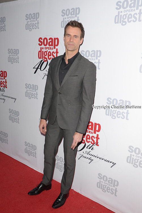 CAMERON MATHISON at Soap Opera Digest's 40th Anniversary party at The Argyle Hollywood in Los Angeles, California