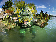 The lake Monster at Dutch Springs, Scuba Diving Resort in Bethlehem, Pennsylvania