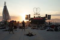 Not sure what's going on here. Sounded like a guided meditation of some kind. My Burning Man 2018 Photos:<br />