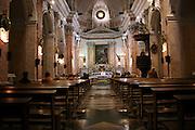 Israel, Jaffa, interior of the Armenian Church