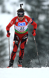 Ole Einar Bjoerndalen (NOR) at Men 20 km Individual at E.ON Ruhrgas IBU World Cup Biathlon in Hochfilzen (replacement Pokljuka), on December 18, 2008, in Hochfilzen, Austria. (Photo by Vid Ponikvar / Sportida)