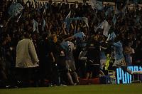 Photo: Tony Oudot.<br /> Tottenham Hotspur v Aston Villa. The FA Barclays Premiership. 01/10/2007.<br /> Tottenham celebrate their last minute equaliser scored by Younes Kaboul