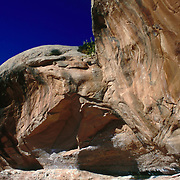Rock formations in BLM lands near Canyonlands National Park