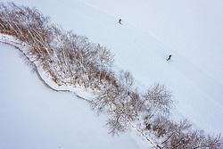 THEMENBILD - Freizeitsportler auf einer Langlaufloipe, aufgenommen am 16. Januar 2019 in Kaprun, Oesterreich // Recreational athletes on a cross-country ski trail in Kaprun, Austria on 2019/01/15. EXPA Pictures © 2019, PhotoCredit: EXPA/ JFK