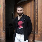 Piccolo Teatro Grassi, Milano, Italia, 9 Aprile 2021. Walter Rizzuto, 29 anni, attore.