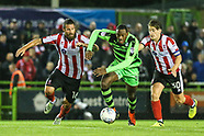 Forest Green Rovers v Lincoln City 120917